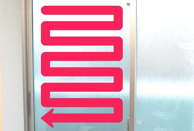 窓クリーニング②