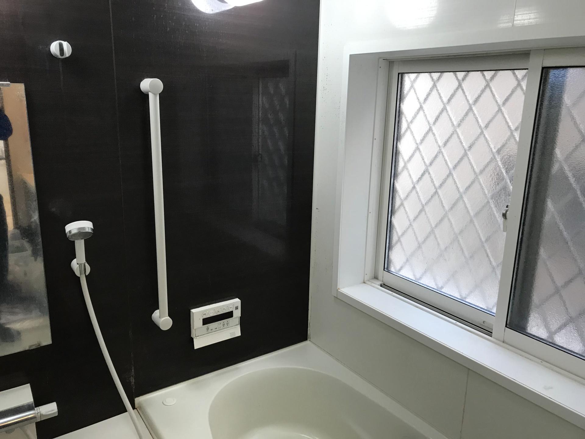 まずはお風呂の全景を撮ります