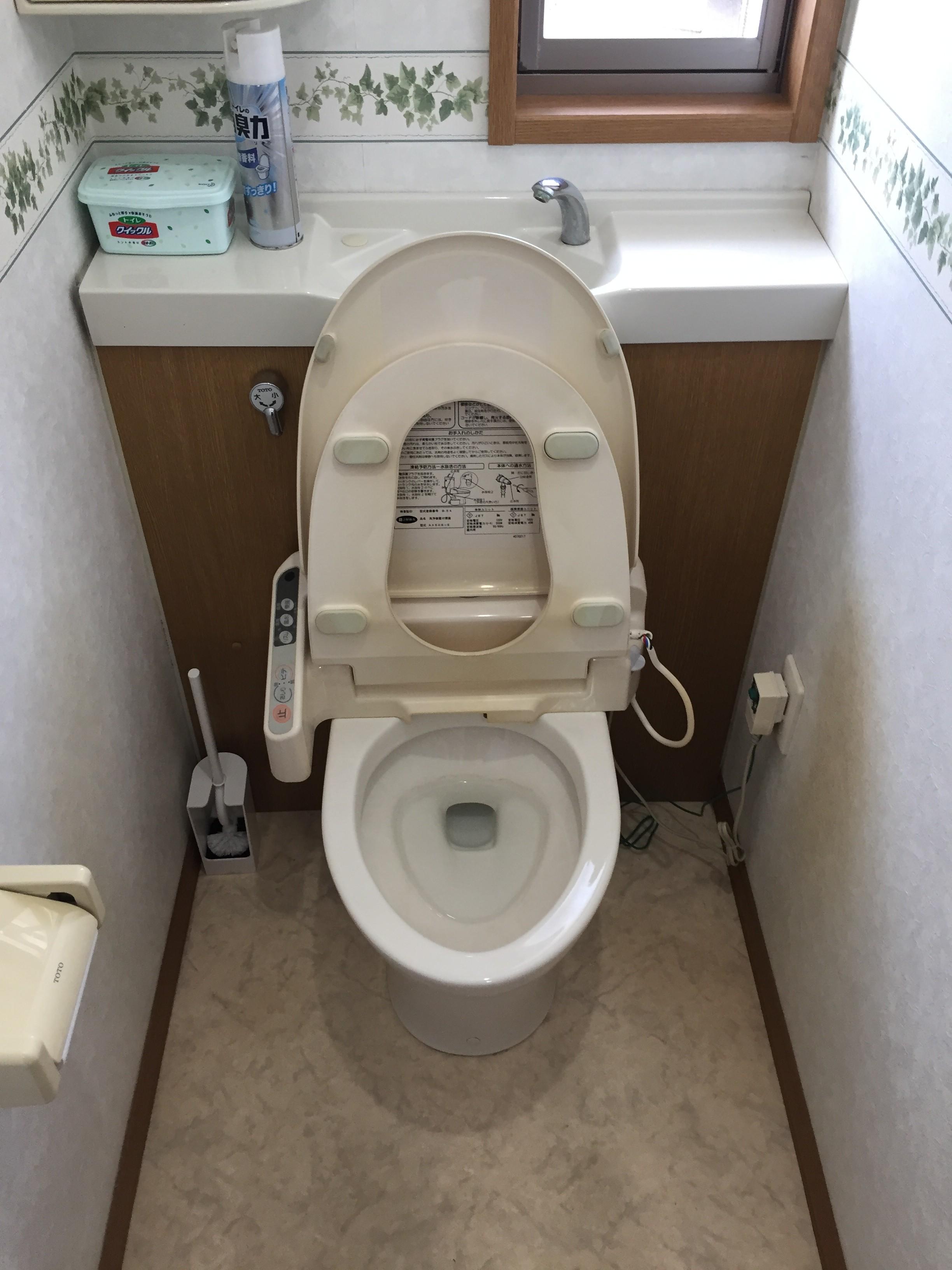 トイレクリーニングアフター